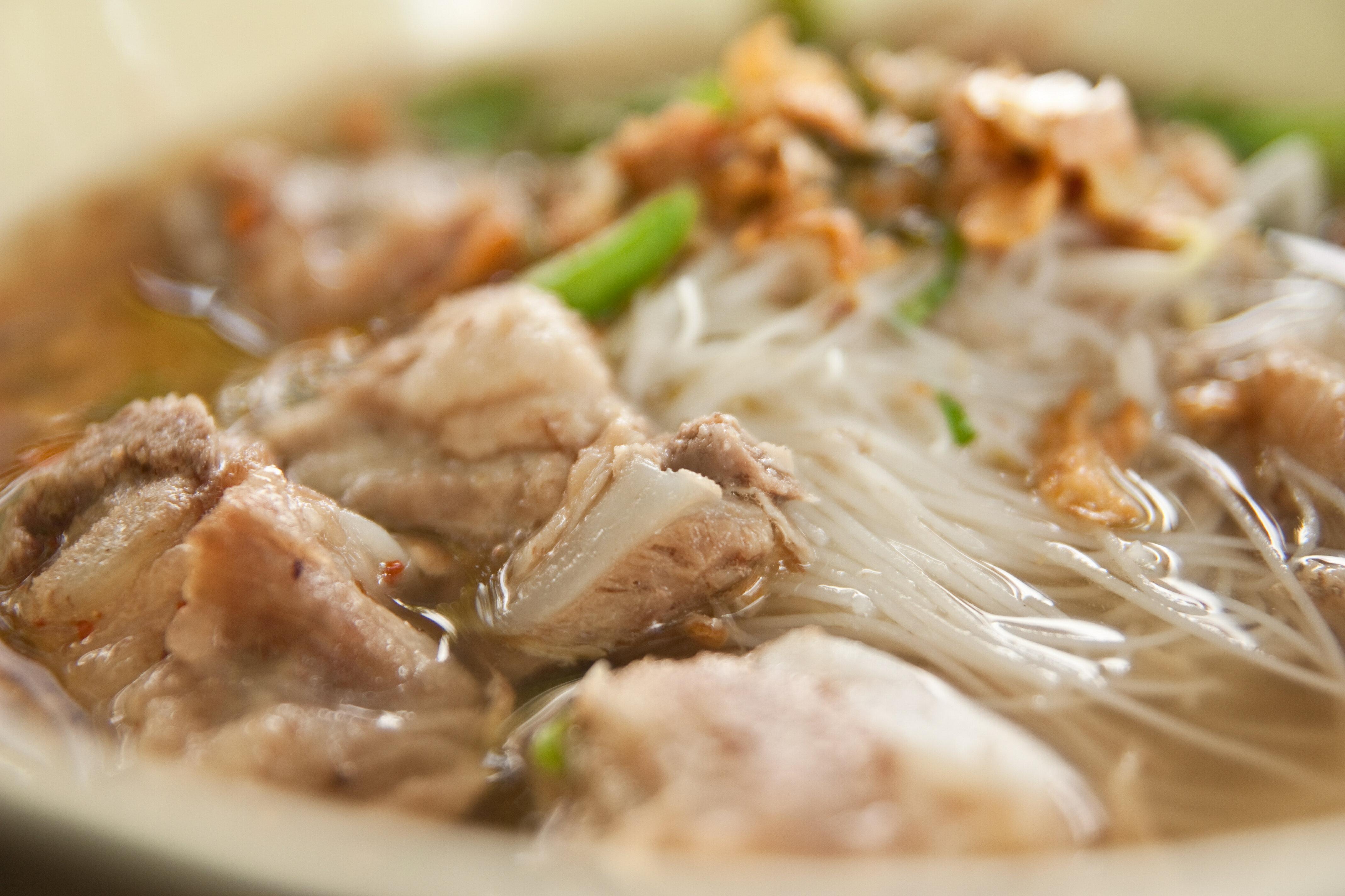Рецепт супа из свинины с вермишелью