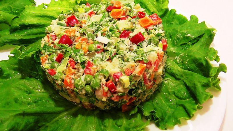 рецепты вкусных и быстрых салатов на праздник